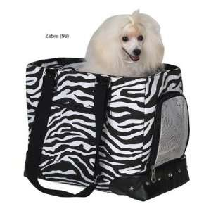 Zack and Zoey US9773 98 Wild Side Pet Dog Carrier in Zebra
