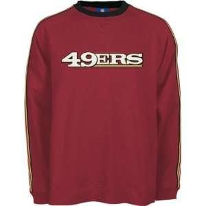 Men`s San Francisco 49ers Ken L/S Crew Neck Fleece Sports