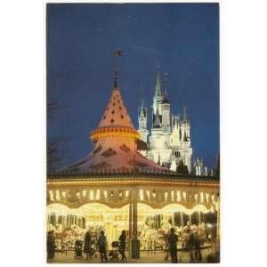 Walt Disney World Magic Kingdom Fantasyland Castle & carousel 4x6
