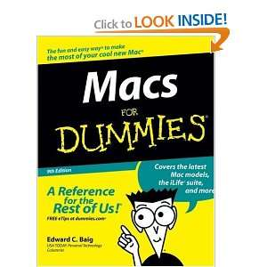 Macs For Dummies: Edward C. Baig: Books