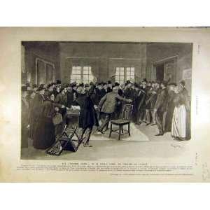 : 1905 Theatre London Fabre Scene Ventres=Dores Print: Home & Kitchen