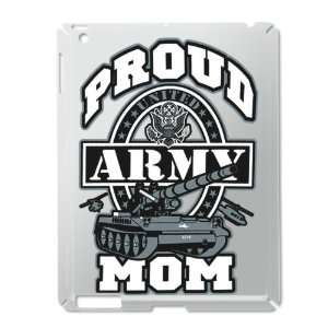 iPad 2 Case Silver of Proud Army Mom Tank