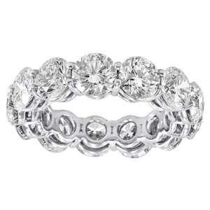 5.00 ct TW Ladys Round Cut Diamond Eternity Wedding Band