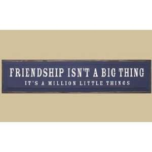 SaltBox Gifts I1023FIB Friendship Isnt A Big Thing Its A