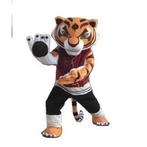 Kung Fu Panda TIGRESS Plush Cartoon Character Costume Toys & Games