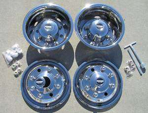 19.5 Chevy / GMC 4500 / 5500 Dually Wheel Covers