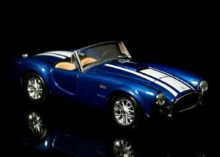 1965 Shelby Cobra 427 MAISTO Diecast 1:24 Scale   Blue