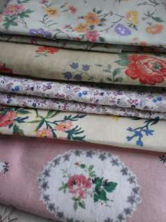 This is a scrumptious of vintage French floral printed cottons perfect