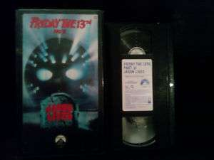 Friday the 13th   Part 6 Jason Lives (VHS, 1994)