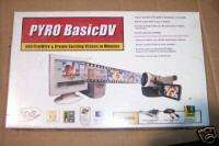 Pyro Basic DV Editing Suite Software   PCI Card P9 E