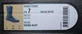 NEW HARLEY DAVIDSON SKYLAR DARK BROWN WOMENS BOOTS