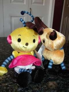 HTF Disney Rolie Polie Olie ZOWIE & SPOT Plushes NWT