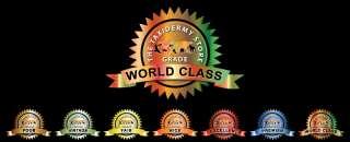 World Class  Premier  Excellent  Nice  Fair  Vintage