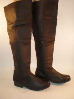 Knee High Renaissance Boots Men 9 Woman 11 Ellie 125 ZOLA