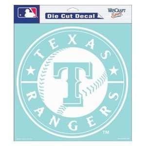 Texas Rangers 8x8 Die Cut Decal