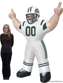 New York Jets NFL Large 8 Ft Inflatable Football Player 896332002870