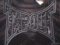 TAPOUT LOGO TEE MENS L NEw BLACK Z9 T SHIRT TEE
