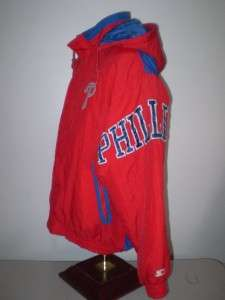 MLB Philadelphia Phillies hooded Starter jacket M