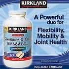 Kirkland Extra Strength Glucosamine with MSM 375 ct joint care