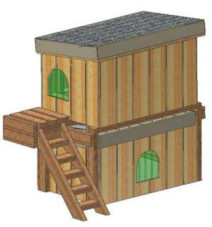 INSULATED DOG HOUSE PLANS, COMPLETE SET, SMALL DOG HOUSE PLANS WITH