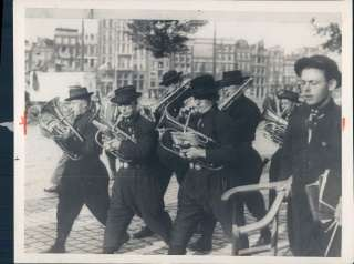 1920 Traditionally Dressed Musicians in Paris