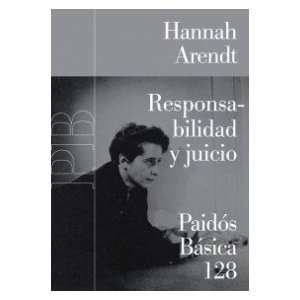 Basica/ Basic) (Spanish Edition) (9788449319938): Hannah Arendt: Books