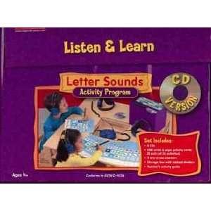 Listen & Learn Letter Sounds Activity Program Toys