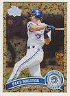 2011 Topps Update Short Print Paul Molitor US138 SP Toronto Blue Jays