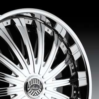 Dub Spinners Slide 28 6x135 6x139.7 Chrome Rims Wheels Escalade Yuko