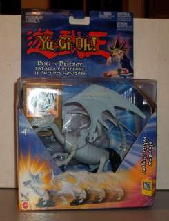 YU GI OH 6 INCH DUEL N DESTROY BLUE EYES WHITE DRAGON MIB UNASSEMBLED