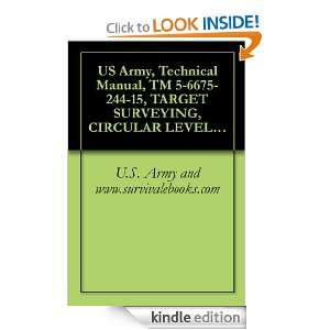 US Army, Technical Manual, TM 5 6675 244 15, TARGET SURVEYING