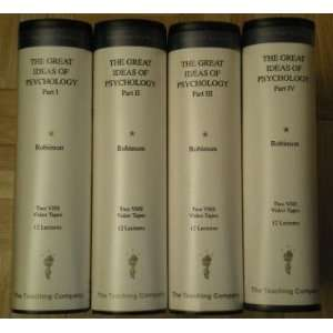 The Greate Ideas of Psychology (Parts I, II, III, and IV on Eight VHS