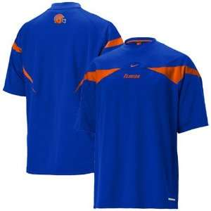 Florida Gators Royal Blue Dri Fit Walk Thru Shirt