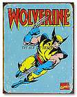 Tin Metal Sign   Wolverine Retro Marvel Comic Book Superhero #1480