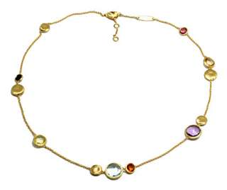 Wonderful 18KYellowGold Necklace from Marco Bicego Jaipur Collection