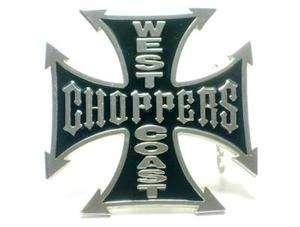1543 WEST COAST CHOPPERS IRON CELTIC CRUSADE MEDIEVAL CROSS BELT