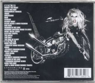 Lady Gaga Born This Way Deluxe 2 CD(New & Sealed) 602527641256