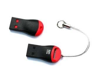10 X Mini Micro SD T Flash TF M2 Memory Card Reader USB 2.0 2G 4G 8G