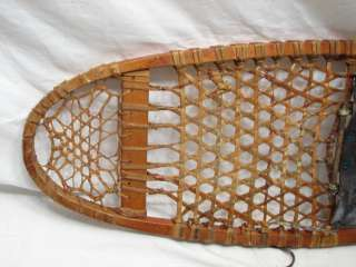 EARLY US C.A. LUND SNOWSHOES SNOW SHOES MILITARY WWII