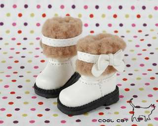 Cool Cat╭☆ Blythe / Pullip Shoes, Boots【18 02】Black