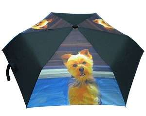 Yorkshire Terrier Dog Umbrella Compact Umbrellas Dogs Yorkie
