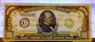 1928 1000$ DOLLAR BILL MINT CONDITION MUST SEE