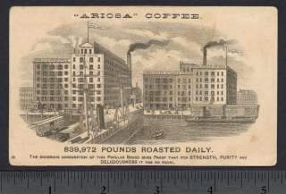 1880s Advertising Trade Card for Arbuckle Bros. Coffee Co. of