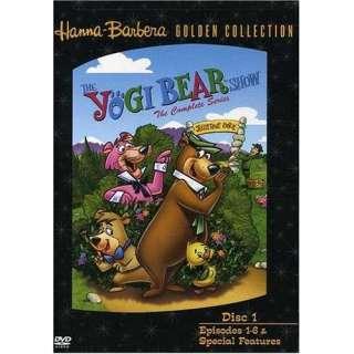 Yogi Bear Show complete Series disc 1 [dvd] (hanna Barbera