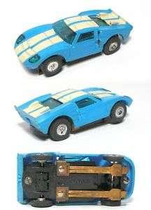 1969 TYCO S Ford GT Vintage GT 40 Slot Car Unused Nice!