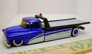 COOL WHEELS 57 CHEVY FLAT BED CAR HAULER RUBBER TIRE LIMITED EDITION