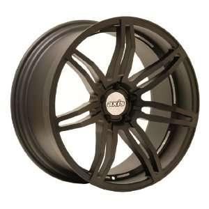 20x9 Axis Angle (Matte Black) Wheels/Rims 5x114.3