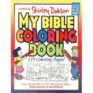 My Bible Coloring Book A Fun Way for Kids to Color Through the Bible