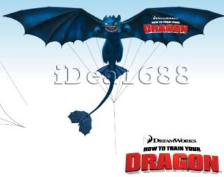 HOW TO TRAIN YOUR DRAGON TOY DARK BLUE TOOTHLESS PLUSH NIGHT FURY