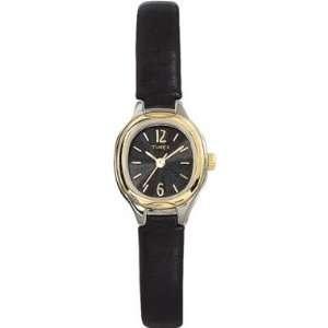 Timex T23251 Ladies Classic Black Dial Strap Watch